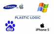 Apple ,  Samsung ,  Baidu ,  Dell ,  Windows Phone ,  Plastic Logic ,  RUSNANO ,  Nokia ,  iPhone 5 ,  Cyberdigest ,  РОСНАНО ,  Кибердайджест