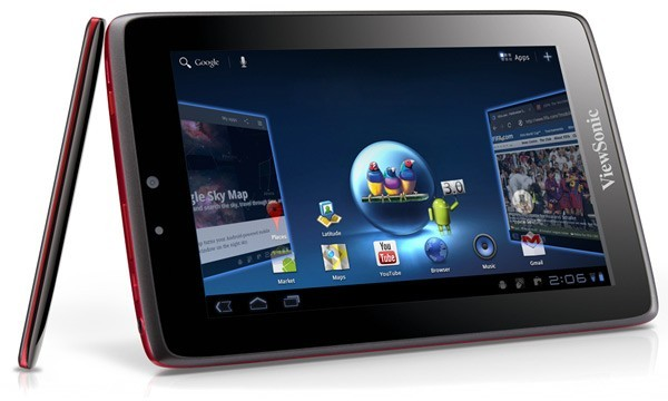 ViewSonic, ViewPad 7x, Android 3, tablets, планшеты