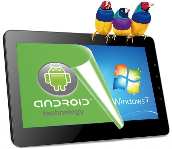 ViewSonic, ViewPad 10Pro, Android, Windows, tablets, планшеты