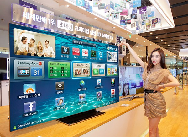 Samsung, ES9000, Smart TV