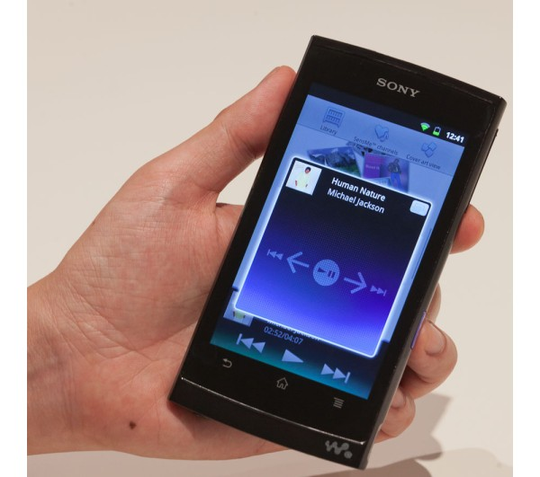 Sony, Walkman, Android, Mobile Entertainment Player, MEP, плеер