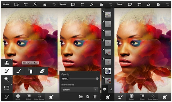 Adobe, Photoshop Touch, смартфон