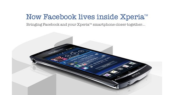 Sony Ericsson, Xperia, Android, Play, Arc, Facebook, Facebook Inside Xperia, обновление, апдейт, смартфон