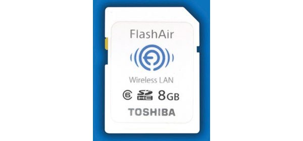Toshiba, FlashAir, Wi-Fi