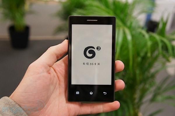 Видео: E Ink представила образец смартфона с дисплеем на электронных чернилах