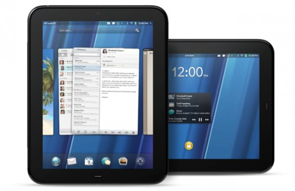 HP, TouchPad, webOS, tablets, планшеты