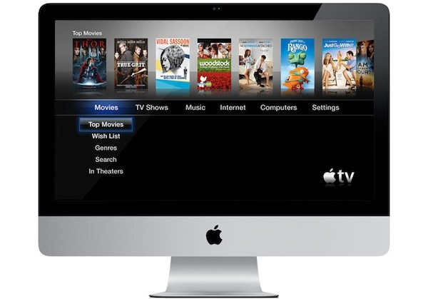 Apple, Apple TV, телевизор