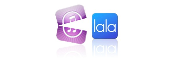 Apple, Lala, iTunes, iPad