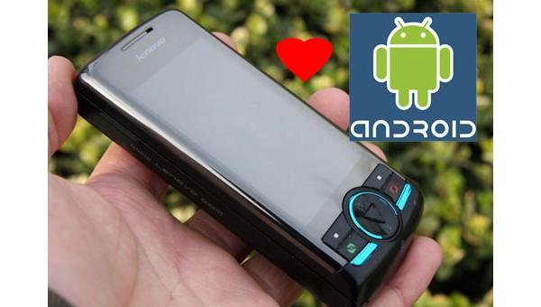 Lenovo выпустит собственный коммуникатор под управлением Android