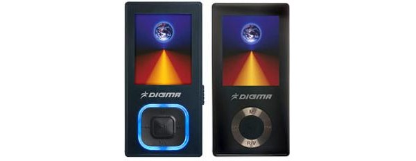digma mp3 flash плеер: