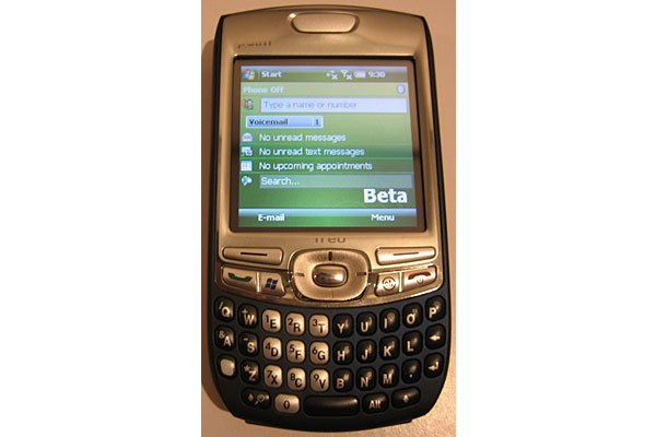 Windows Mobile 6, Palm Treo 750