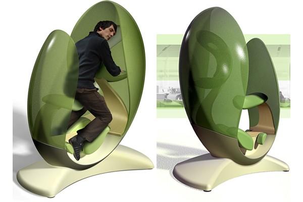 Twist Chair, el Zulo, Metronaps, Lomme, Nappak