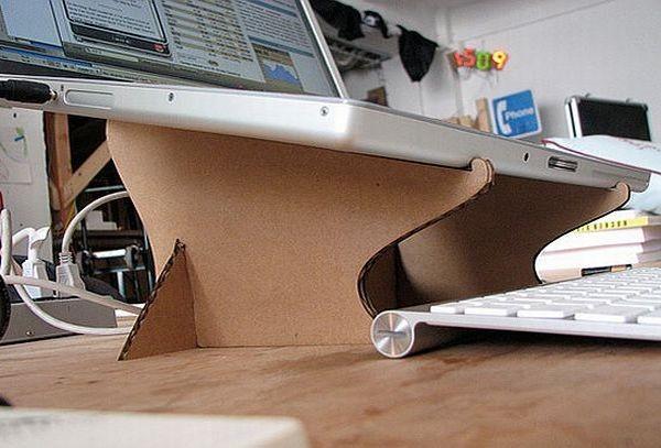 Фото подставки для ноутбука своими руками