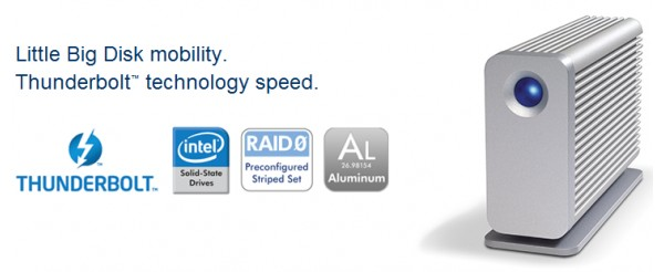 Thunderbolt, LaCie, Promice, Apple, Intel, Light Peak
