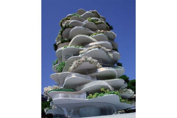 Дом-кактус (Cactus House) (Роттердам, Нидерланды) Проект этого дома был создан для максимизации внешнего пространства...