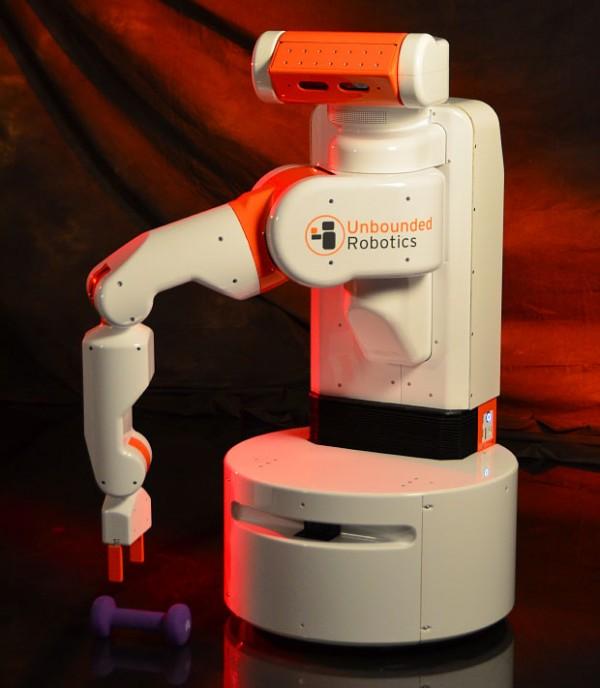 Unbounded Robotics, UBR-1, ROS, PrimeSense, робот