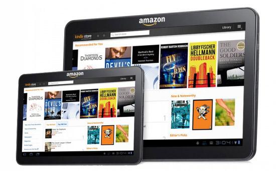 Планшеты Amazon: в этом году 7-дюймовый, в следующем — 10-дюймовый