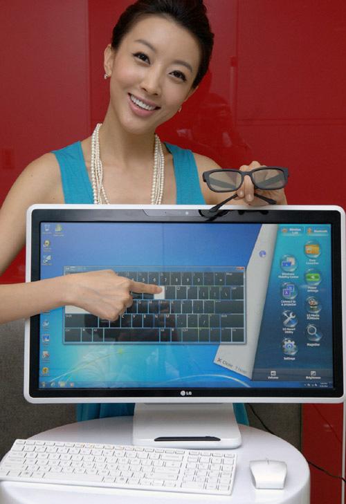 LG сделала клон iMac с сенсорным экраном