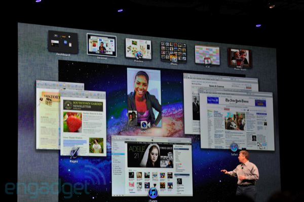 Apple представила Mac OS X Lion