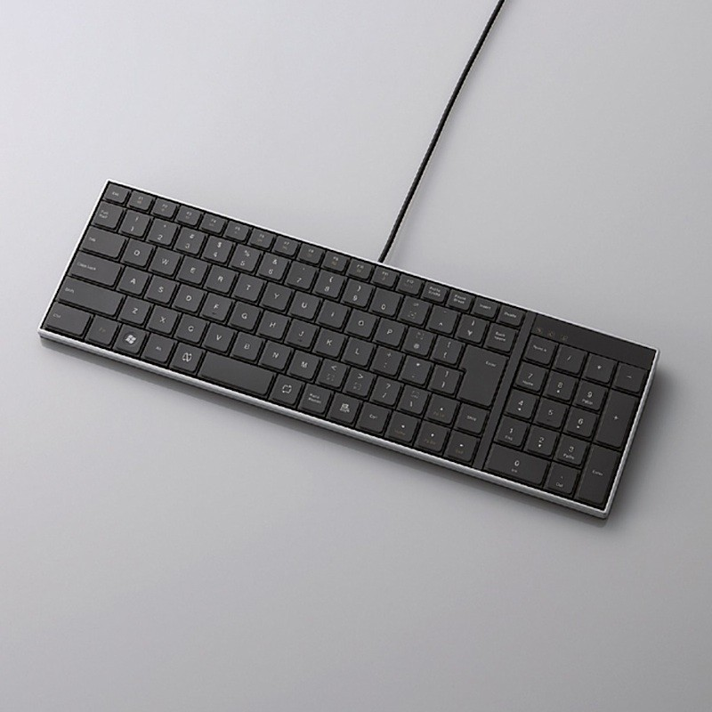 Супертонкая клавиатура от Elecom - а-ля Sony VAIO.
