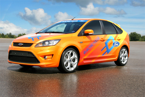 Ford Focus Electric c Microsoft Hohm