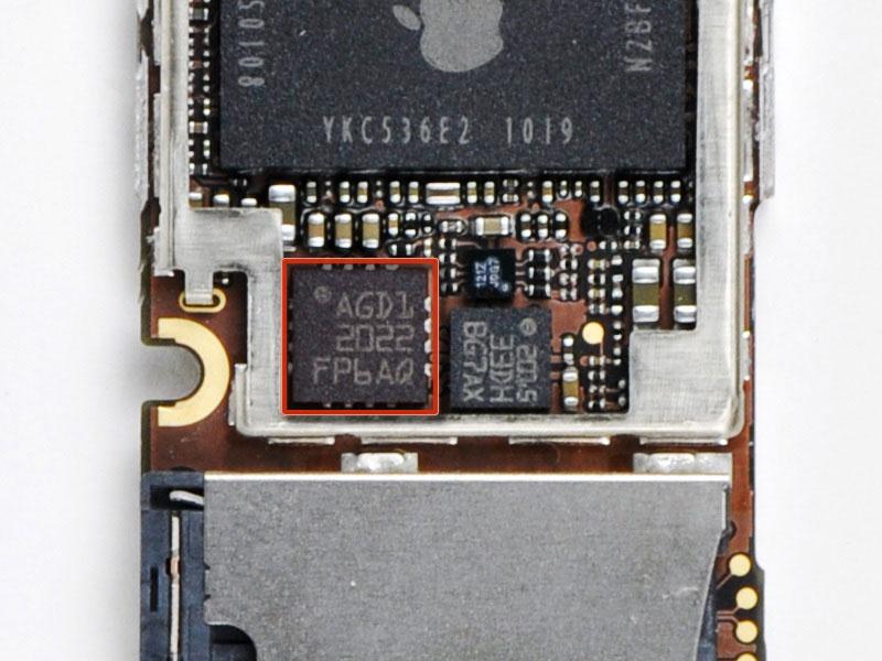 Фотографии гироскопа iPhone 4