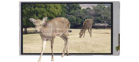 Sharp выпустит трёхмерные экраны для сотовых телефонов