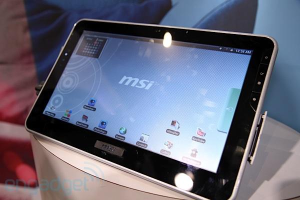 Прототип планшета на Tegra 2 от MSI