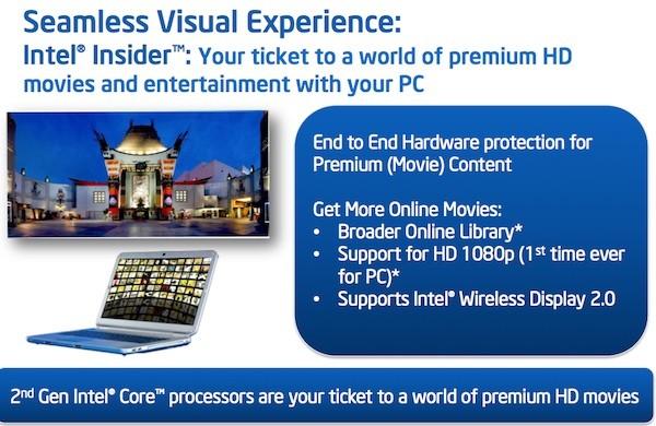 Intel запустит собственный видеосервис Intel Insider
