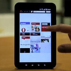Opera показала браузер для планшетов