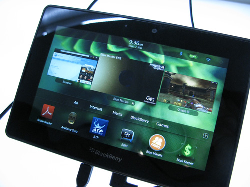 RIM: PlayBook будет работать «весь день»