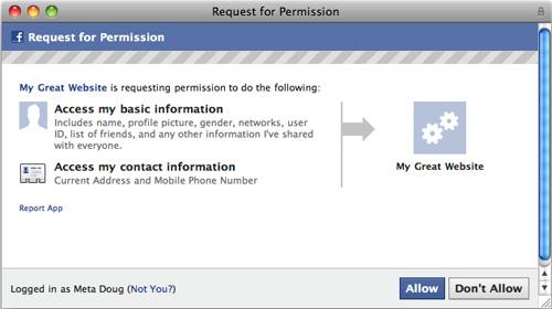Facebook разрешил разработчикам узнавать адреса и телефоны пользователей