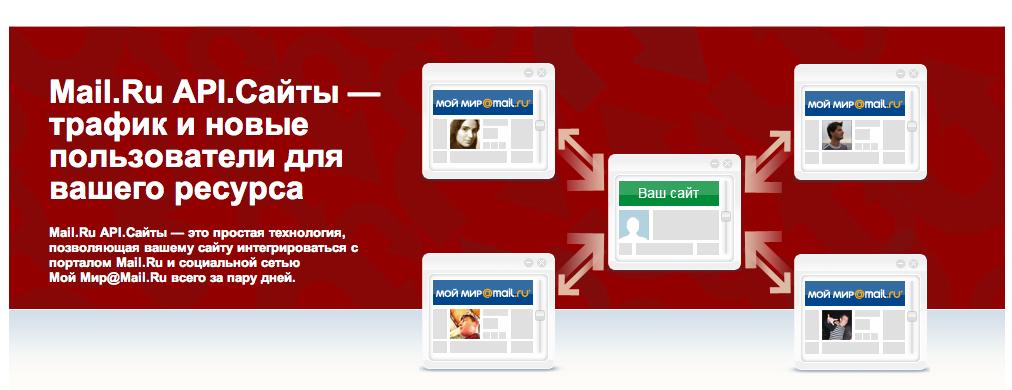API mail.ru