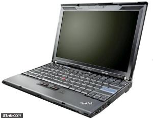 В сети появились новые фотографии Lenovo ThinkPad X200