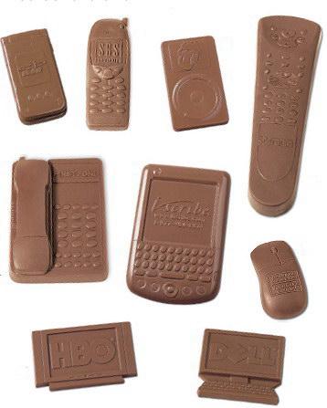 Шоколадные гаджеты идеальные