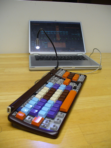 Как сделать MIDI-контроллер из обычной клавиатуры CyberStyle.ru