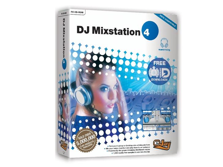 EJay обновила DJ Mixstation до 4-ой версии CyberStyle.ru.
