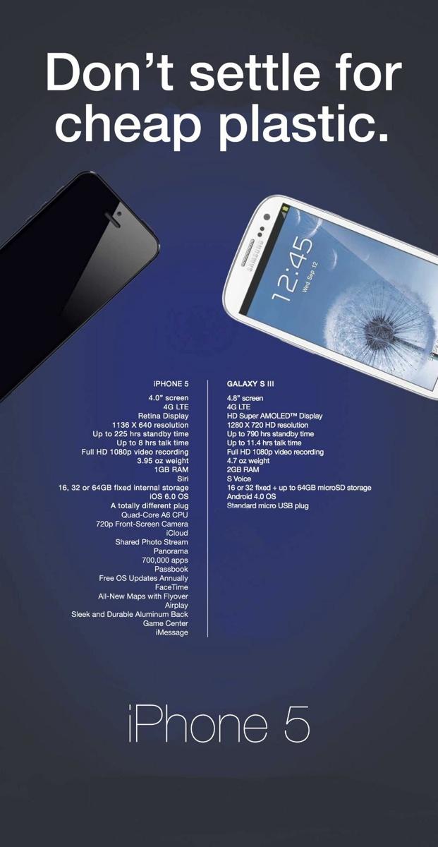 Samsung «протроллила» Apple в рекламе, фаны