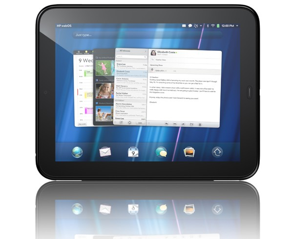 HP, TouchPad, планшеты